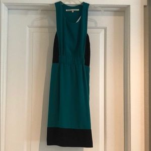 Teal Rachel Roy dress